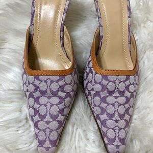 Coach shoes SZ 6 B MADE IN ITALY